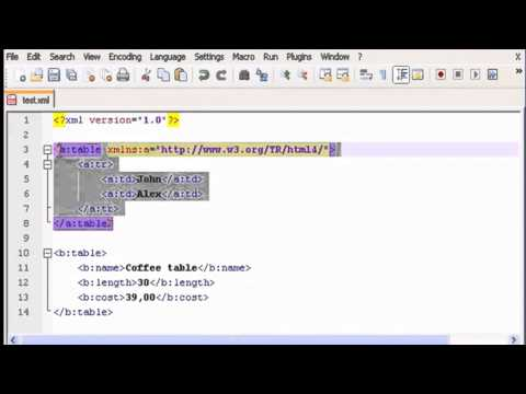 05  Prefix And Namespace (Section 4 - XML)