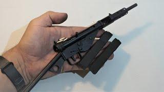 Miniature 1:2 scale STEN MKII