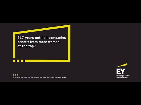 217 years until all companies benefit from more women at the top?