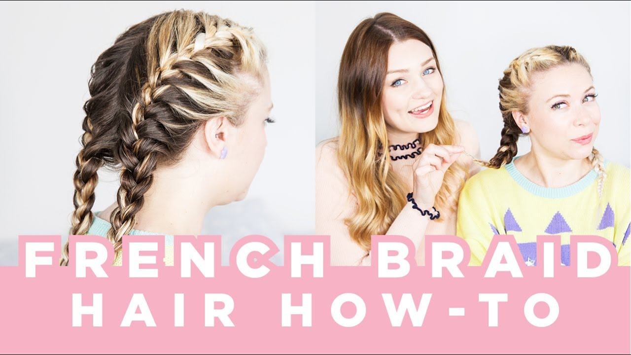 How To French Braid Your Hair!