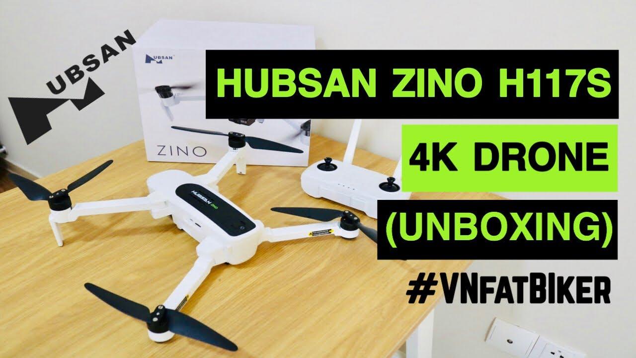 DJI MAVIC BUSTER!😎 HUBSAN ZINO H117S 4K Drone (Unboxing)