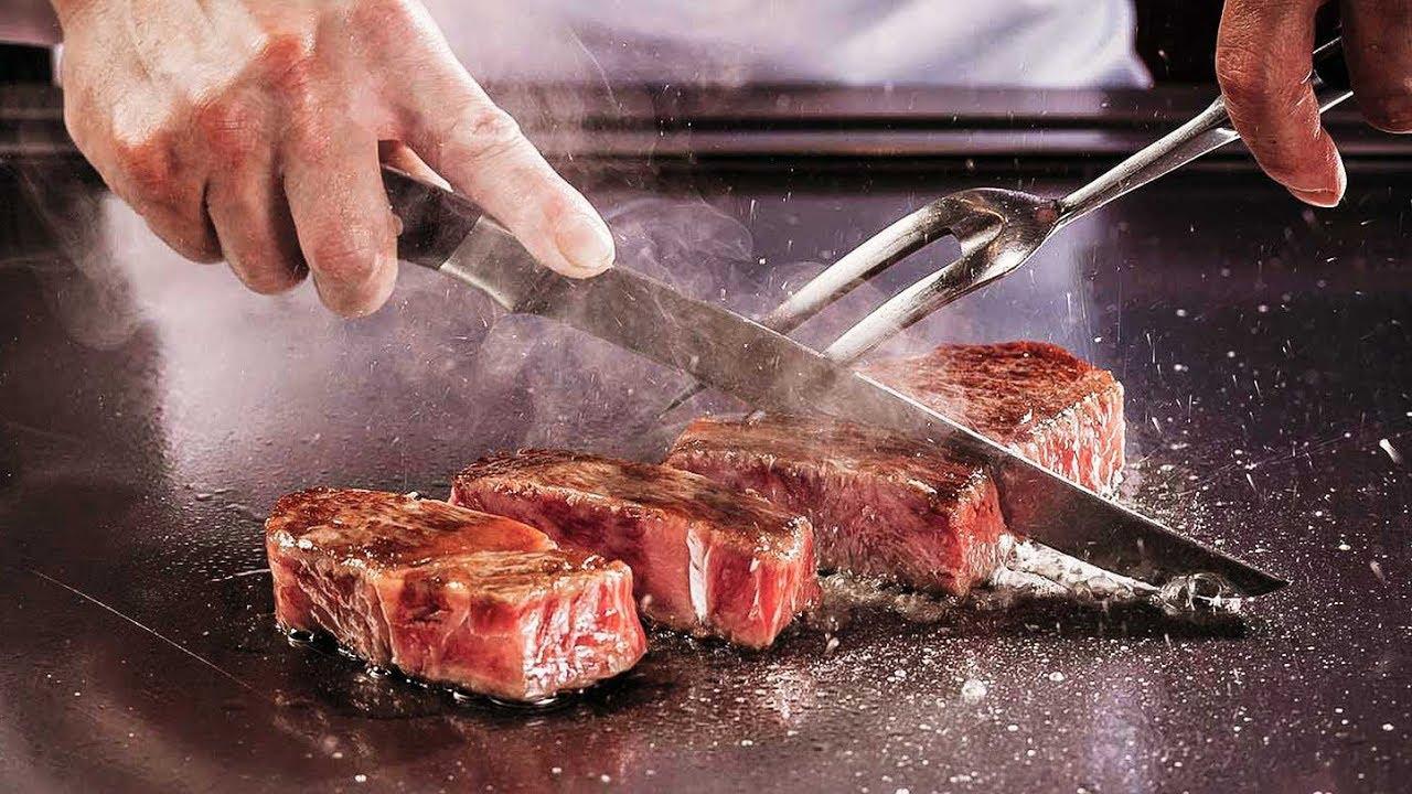 Japanese Street Food 🍖 JAPANESE FOOD Tour: Kobe Beef Ramen in Tokyo,  Japan🍖