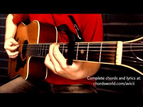 You Make Me Chords by Avicii - How To Play - chordsworld