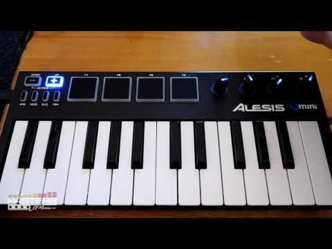 Alesis V Mini Keyboard Controller Review and Demo