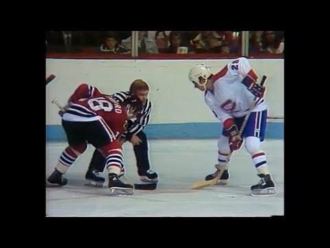 1980-81 Black Hawks vs Canadiens