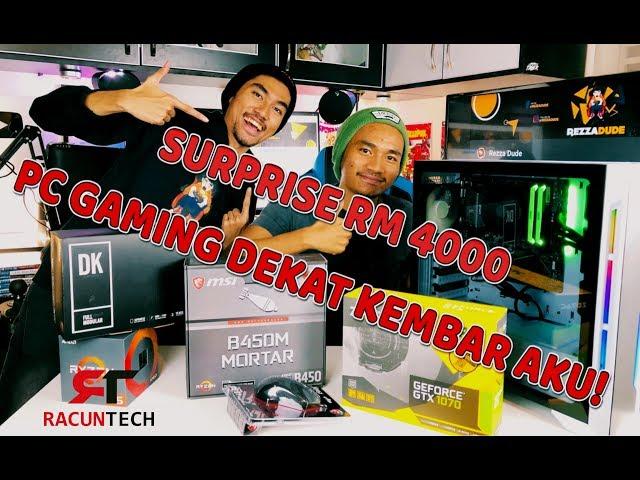 SURPRISE RM 4000 PC GAMING ! VLOG RezZaDude !