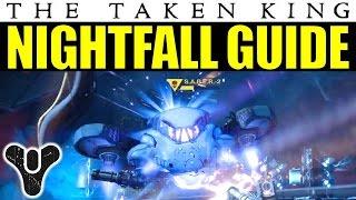Destiny Nightfall Guide: Fallen S.A.B.E.R. | Taken King Week 2 (Sept. 22-28) Nightfall Walkthrough