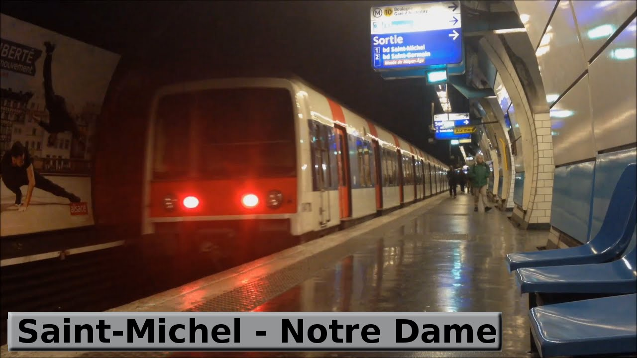 Saint michel notre dame rer b paris ratp mi79 - Saint michel paris metro ...