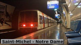 Saint-Michel - Notre-Dame | RER B : Paris ( RATP MI79 )