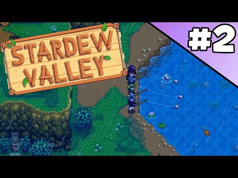 Stardew Valley Multiplayer w/Skimm pt2: Fishing Party