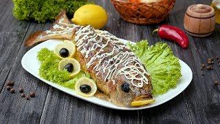 Как приготовить фаршированную рыбу - Рецепты от Со Вкусом