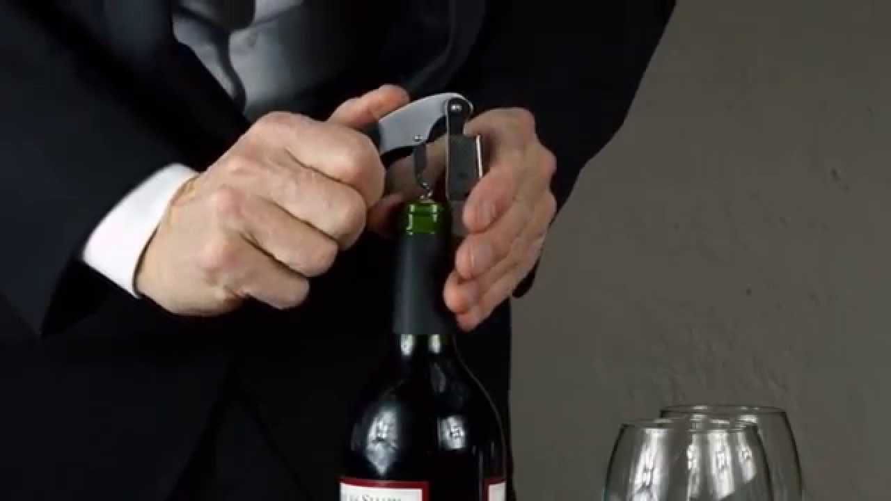 How to open a bottle of wine 43