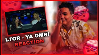 L7OR - YA Omri (Official Music Video) (Reaction)
