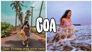 Goa vlog #2 Dear Zindagi Shot, Candolim & Vagator beach, Panjim, Things to do in North Goa