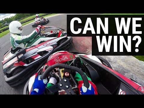 Can We Beat F1 Teams In A Karting Battle?