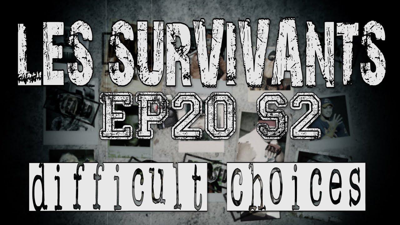 les survivants saison 2 episode 20 difficult choices. Black Bedroom Furniture Sets. Home Design Ideas