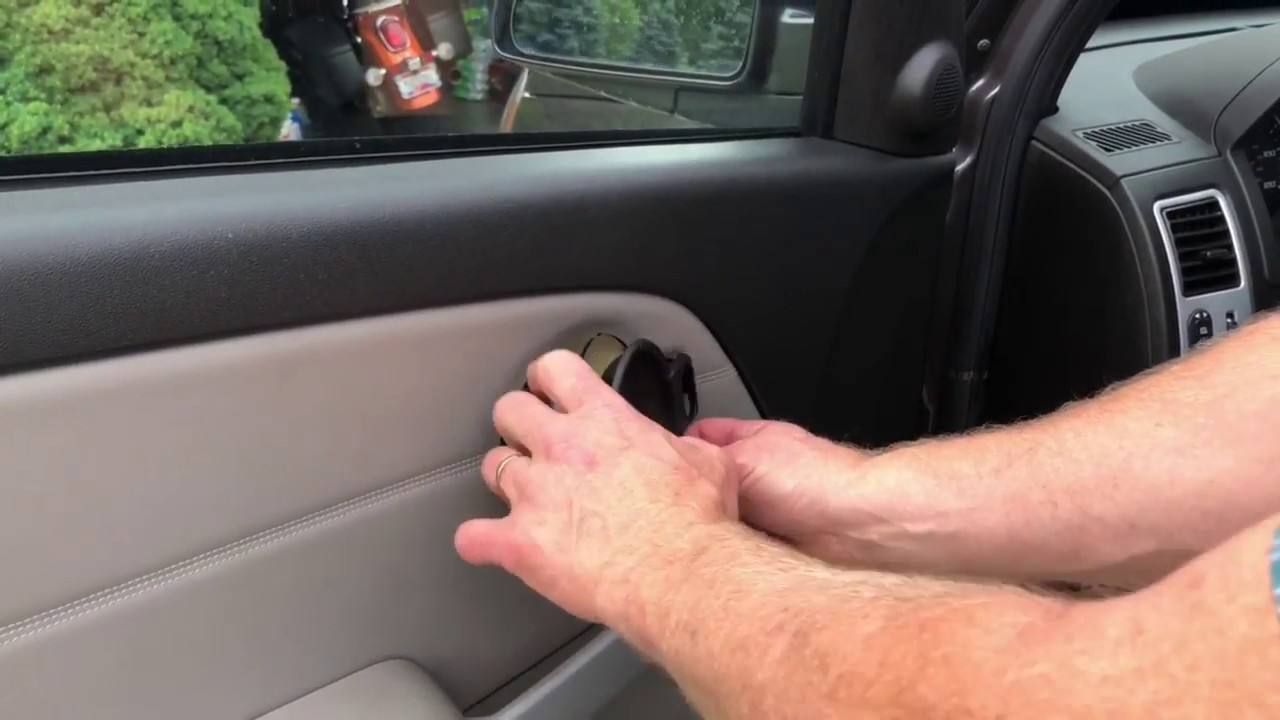 Removing And Replacing The Door Panel On A Chevy Equinox Youtube