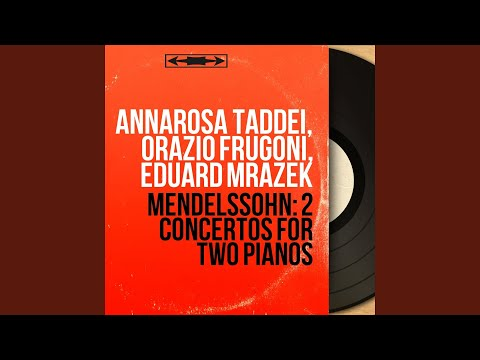 Concerto for Two Pianos in A-Flat Major, MWV O6: II. Andante