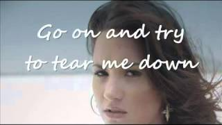Demi Lovato   Skyscraper Lyrics