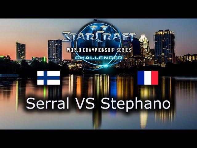 Serral VS Stephano - Ro8 - ZvZ - EU Qualifiers WCS Austin 2018 - polski komentarz