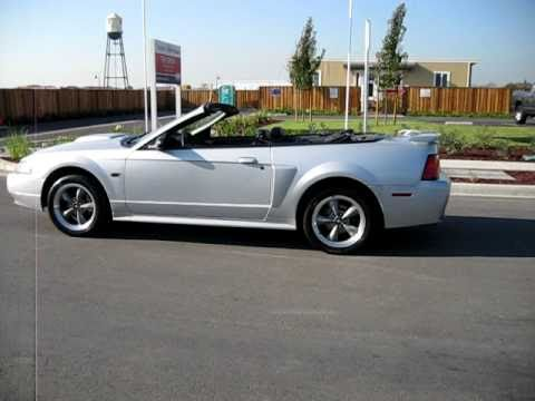 2002 Silver Ford Mustang Gt Convertible Walkaround