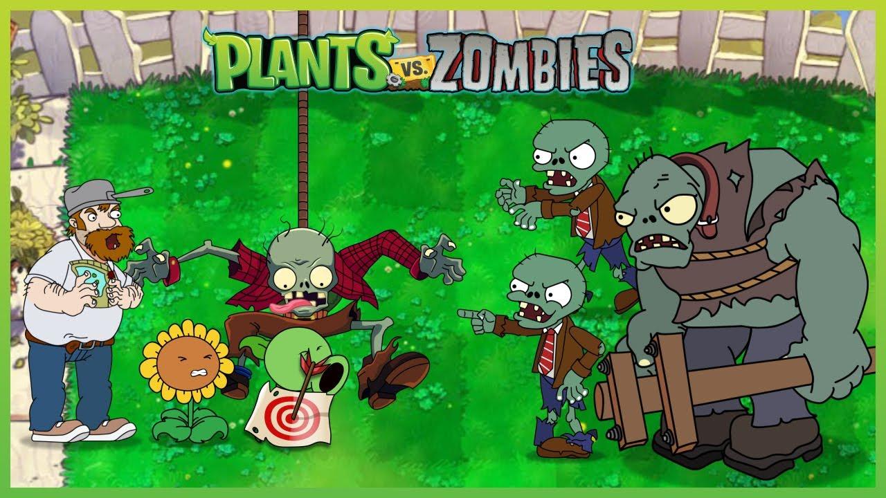 PLANTS VS ZOMBIES HEROES - Sunflower Level 100, Cactus Level 9999 vs Bungee Zombie Heroes