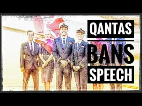 Qantas tries to control the speech of their staff. Where is it coming from?
