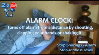 Stop Snoring & Alarm - iPhone Trailer