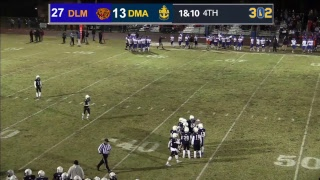 Delmar vs DMA DIAA Football Playoffs LIVE from Baynard Stadium