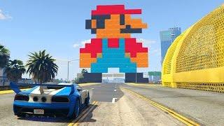 SUPER MARIO BROS!!! - CARRERA GTA V ONLINE - GTA 5 ONLINE