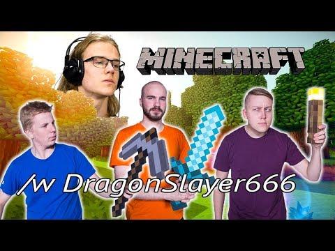 ETTE TE JÄTKÄT OSAA MITÄÄN! | Minecraft w/ DragonSlayer666