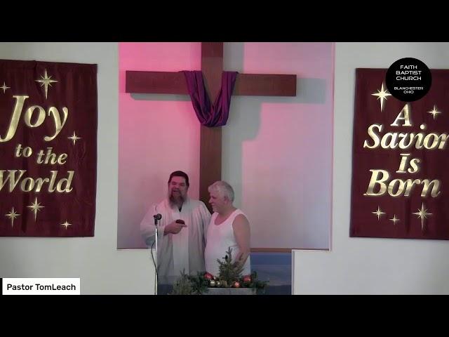 Keith Demario Baptism