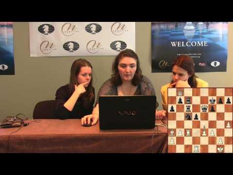 Press Conference Round 2: Dzagnidze Nana (GEO) - Kosintseva Tatiana (RUS)