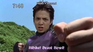 Jyuken Sentai Gekiranger  - GekiViolet Morph