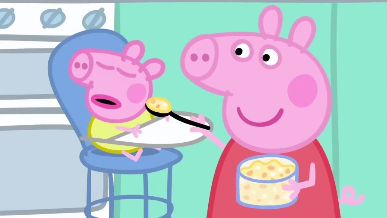 Cuisine Peppa Pig Peppa Pig Baby Alexander English Full Episodes Compilation 17