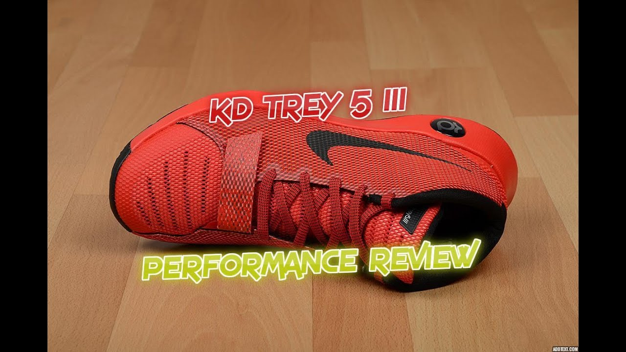 bcf415307fa2 KD Trey 5 III Performance Review   On Foot Test - YouTube