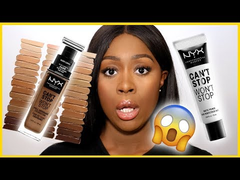 I AM SHOOK!! 😱NON SIETE PRONTI | NYX Can't Stop Won't Stop Fondotinta Review ? | GRACE ON YOUR DASH