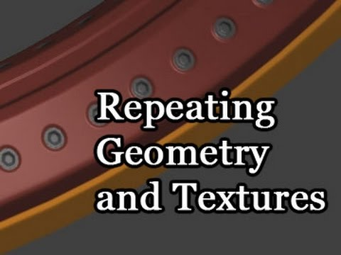 Game Assets - Repeating Geometry and Textures - Part 1