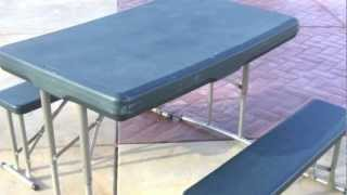 Picnic Tables For Sale From Portable Folding Plastic & Metal To Wooden Outdoor Table For Picnics