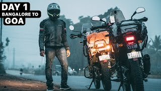 DAY 1 | BANGALORE TO GOA RIDE - Himalayan BS6