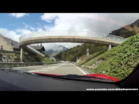 Driving the Gotthard Pass in Switzerland in a Ferrari 360 Spider - FULL version [1080p HD]