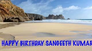 Sangeeth Kumar   Beaches Playas - Happy Birthday