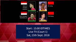 Jadwal Hari ke-5 (Semifinal) Yonex Japan Open 2018   2 Ganda Menggapai Asa