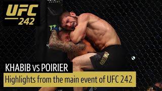 Khabib Nurmagomedov vs Dustin Poirier (UFC 242 Highlights)