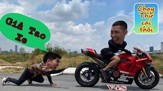 Mượn Ducati V4S Cho Hưng NC Chạy Thử Và Cái Kết | Tới Tài Tử
