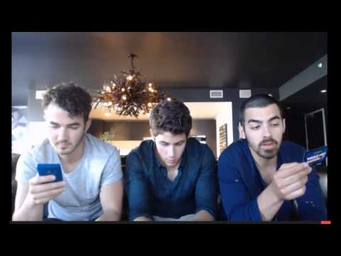 Jonas Brothers Live Chat (06-17-2013) [HD]