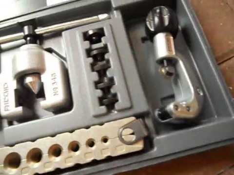 How To Flare A Brake Line >> Ridgid 345 DL flare tool review DOUBLE flare brake line ...