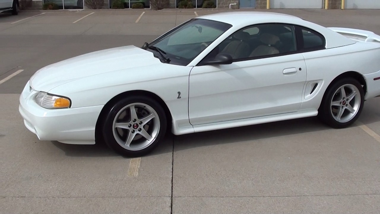 1995 ford mustang cobra r 152 of 250 only ron s toy box in bettendorf ia 52722 [ 1280 x 720 Pixel ]