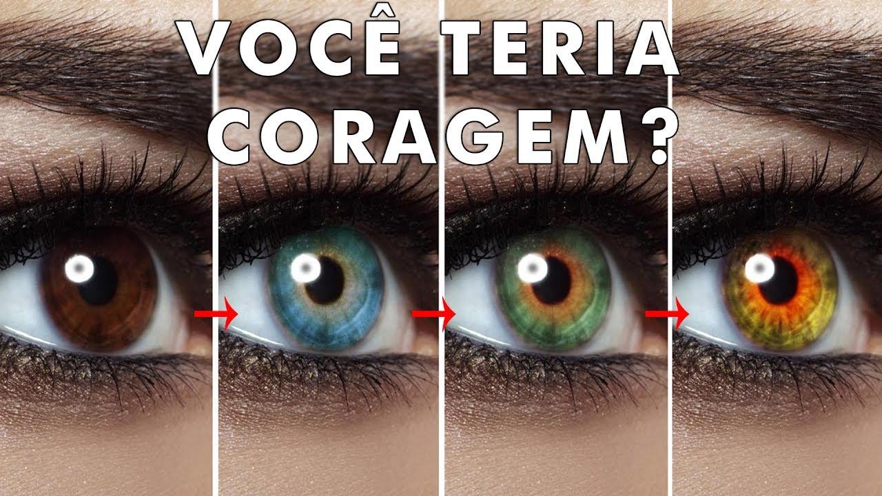 7 maneiras insanas de mudar a cor dos seus olhos - YouTube 999a674a63