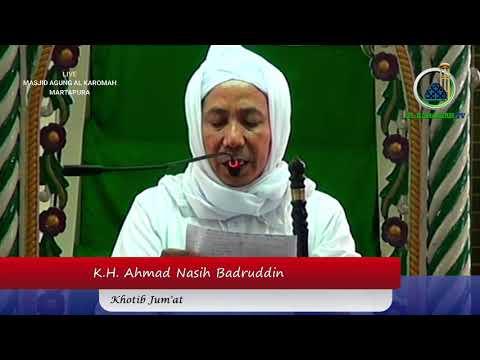 AL KAROMAH TV - KHUTBAH JUM'AT KH.AHMAD NASIH HB DI MASJID AGUNG AL KAROMAH MARTAPURA | 03 MEI 2019